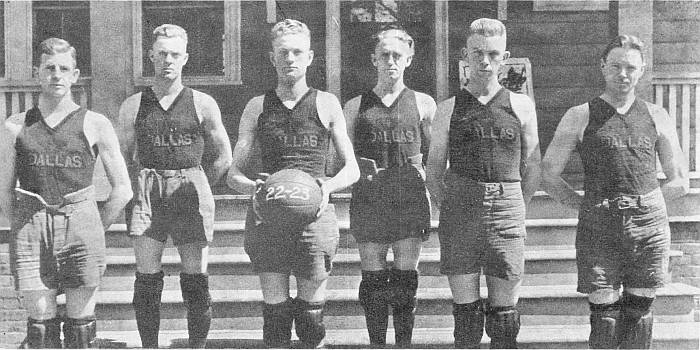The Dallas Bumble Bees, 1922 - 1923