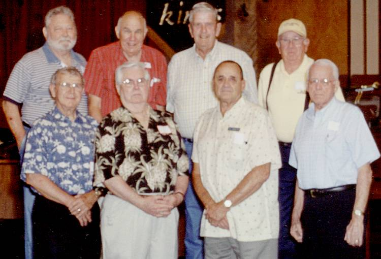 1948 / 1949 Championship Baseball  Team Surviving Members - 2005
