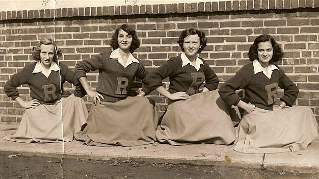 1950s cheerleader