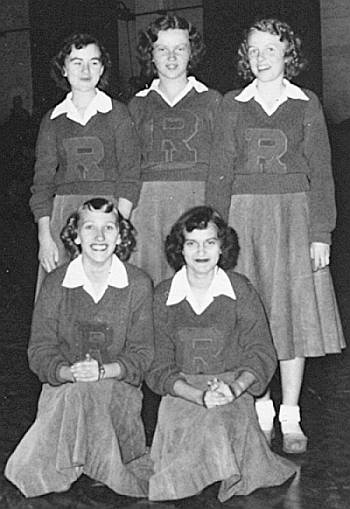 1952 Rison Cheerleaders