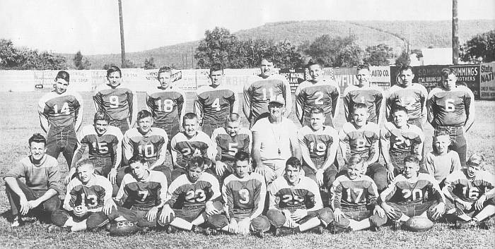 1956~1957 Rison Football Team