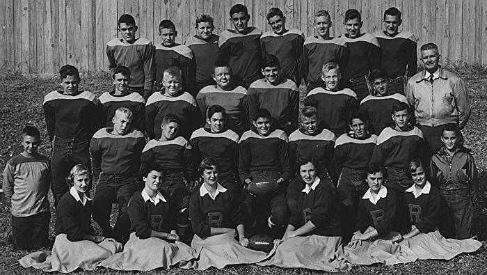 The 1952 Rison Jr. High Football Team