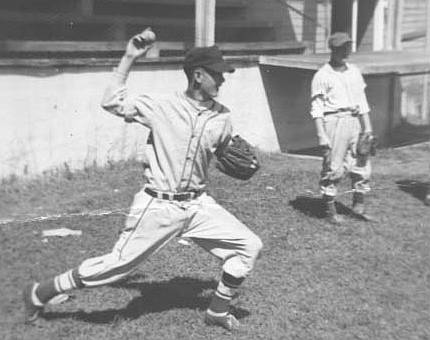 Billy Walker at Optimist Park 1953